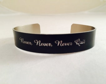 Your message here-Personalized Engraving-Bangle Bracelet