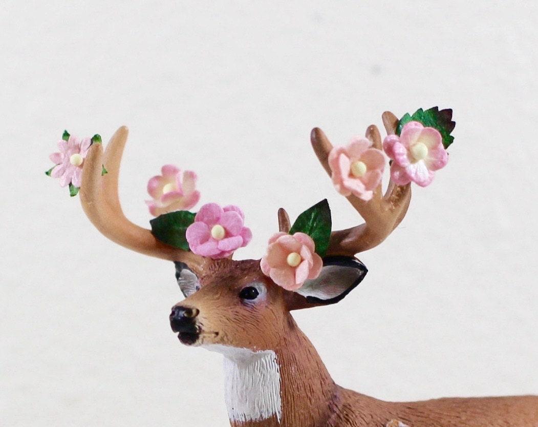 woodland baby shower decorations deer cake topper by halfpintfauna