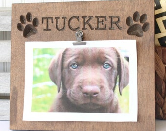 personalized dog plaque dog frame dog gift gifts for dog owner personalized - Dog Frame