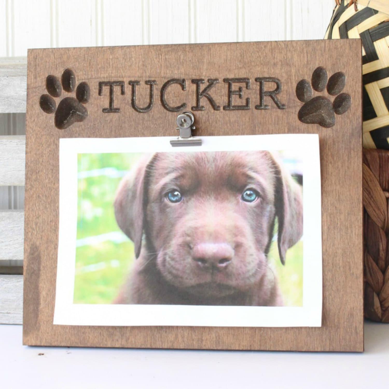 Personalized Dog Plaque dog frame dog gift gifts for dog