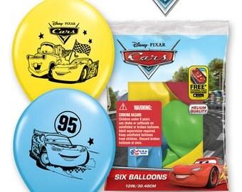 Disney Pixar Cars 6 Balloons