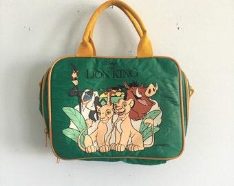 Vintage lion king hand bag/ lunch bag?