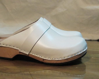 handmade swedish clogs in 41 size