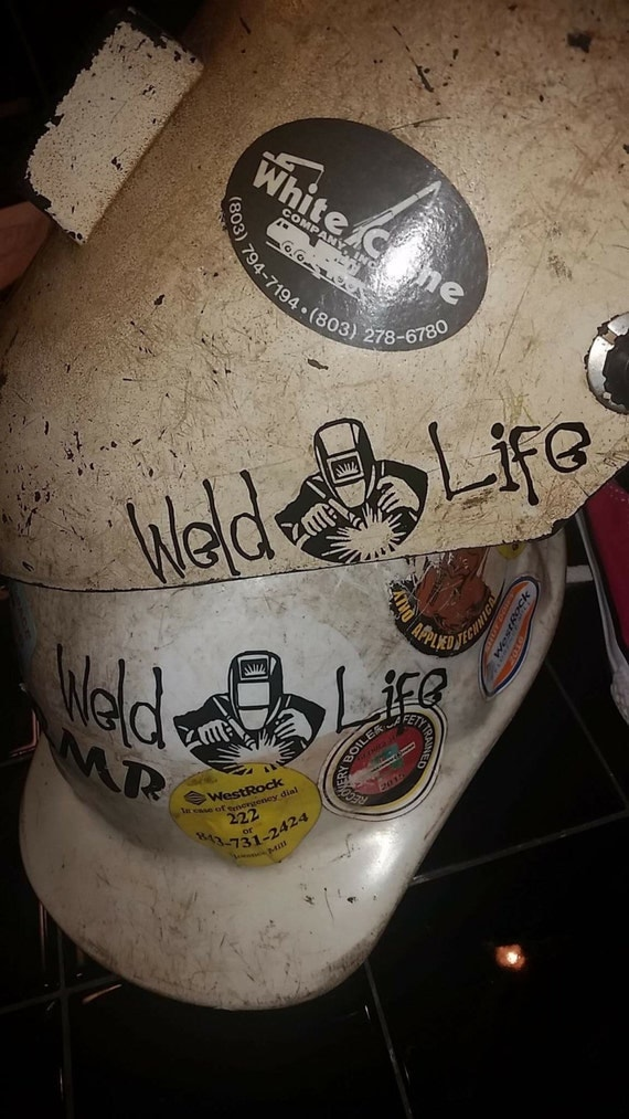 Weld Life Decal Welder Decal Welding Decal