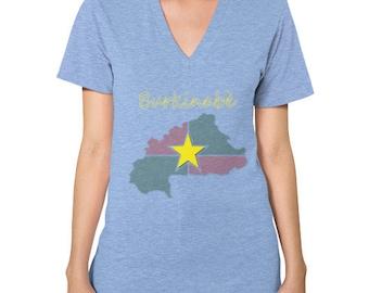 Burkinabe V-Neck Women's