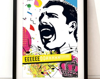 poster Freddie Mercury