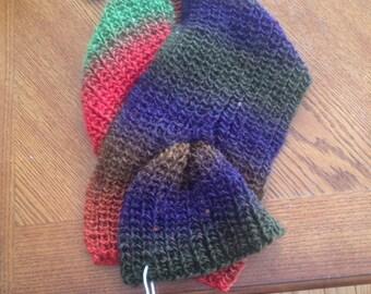 Handmade collar scarf
