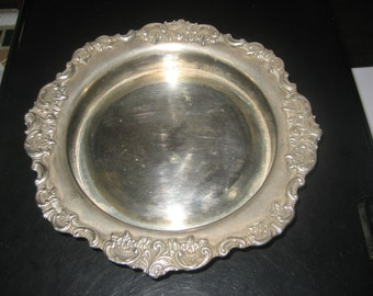 Baroque Wallace silver plated Dish