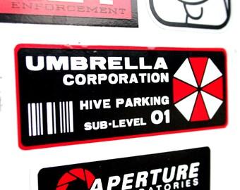Umbrella Corporation - Hive Sub-Level Parking Permit - Vinyl Sticker