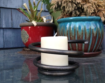 Coil Candle Holder