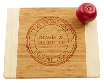 Personalized Cutting Board, Engraved Cutting Board, Wedding Gift, Anniversary Gift, Custom Engraved Board