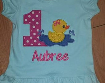 Rubber Duck Birthday Shirt