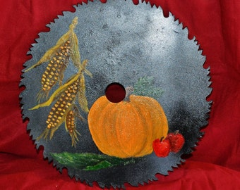 Decorations, Paintings, Harvest, Fall, Pumpkin, Halloween, Thanksgiving, Holidays
