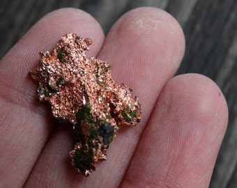 Raw Copper Specimen, Copper nugget, Mineral Speciman