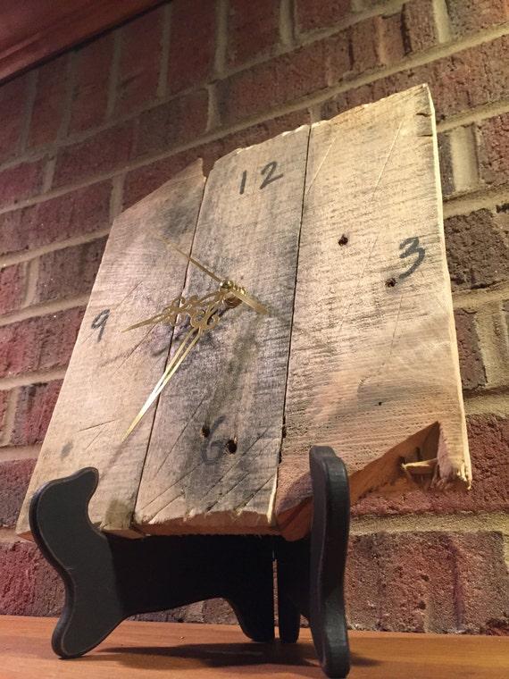 Reclaimed Wood Clock by RidgeForestRun on Etsy