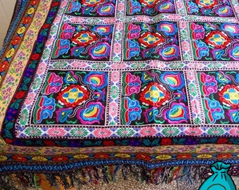 Embroidery,Hand-made,Tablecloth,Gift for family or friends
