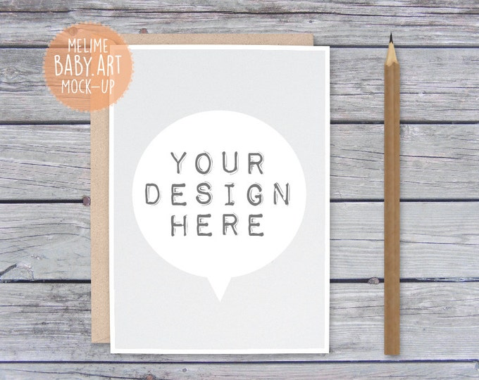 Rustic Card Mockups, 5x7 Card and Envelope Mockup, Styled Photography Mock Up, Invitations Mockup (12.Card)