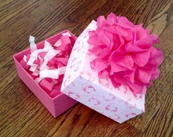 Baby Shower Decorative Gift Box