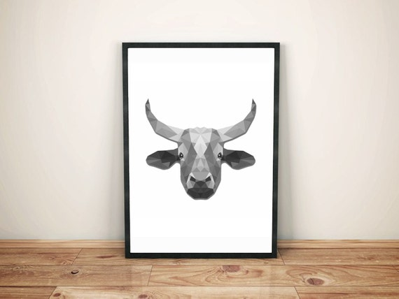 Black Cow Wall Decor : Sale off cow print black and white by tirpitzclipart
