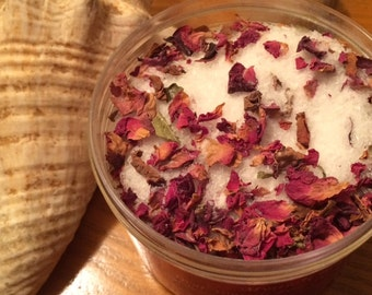 Treat Yourself Rose Petal Bath Salts
