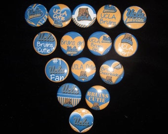 UCLA Bruins Buttons Set of 15
