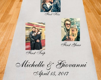 Our Love Story Personalized Wedding Aisle Runner (PPD1)