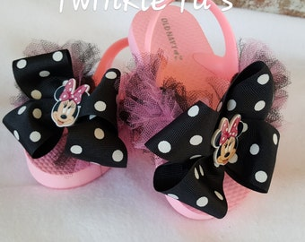 Minnie Mouse Tutu Flip Flop Sandals, Shoes