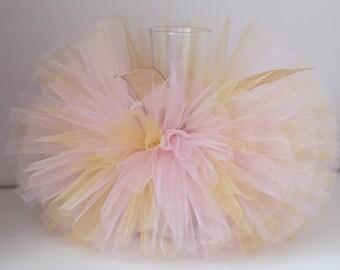 pink and gold tutu- baby pink gold tutu- tutu skirts- pink tutu skirts- toddler tutus- birthday girls tutus- baby tutu- handmade tutu