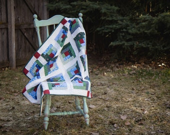 Lattice: Hand-Quilted Wall Art