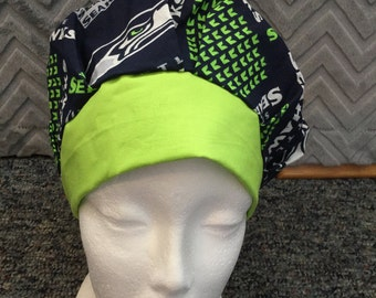 Seattle Seahawks Surgery/Chemo hat