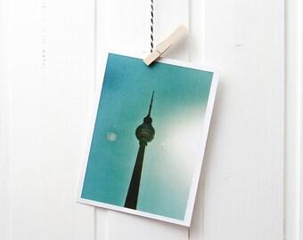 Postcard A6 photo Berlin analog