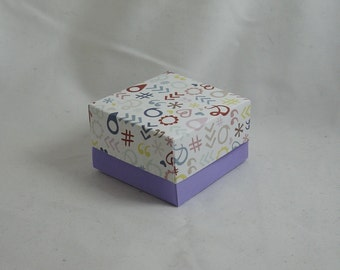 10 Party, Wedding, Baby Shower, Engagement, Christmas, Event Favour - 10 boxes with lids