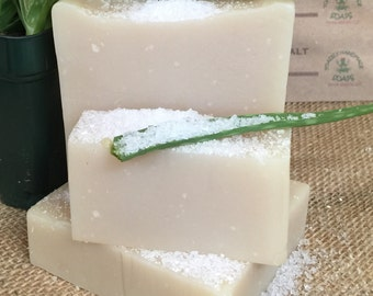 Cactus & Sea Salt Vegan Handmade Shea Butter Soap