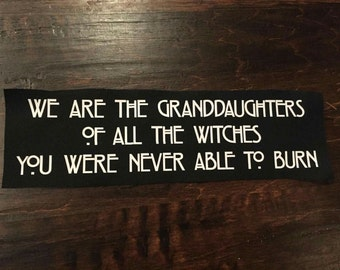 The Witches Patch