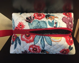 Quilted Makeup Bag
