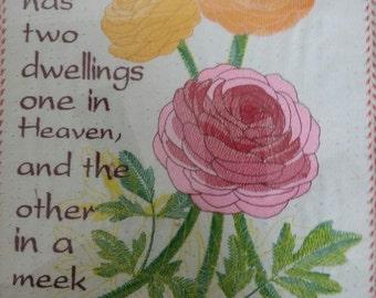 God has two dwellings