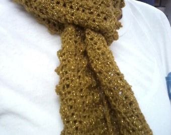 Gold Decorative Scarf