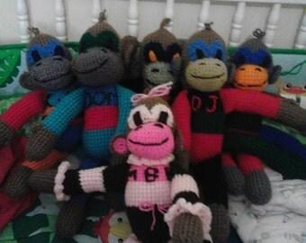 Crocheted Monkeys