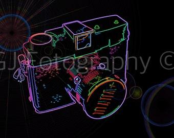 Neon Diana Camera