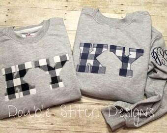 KY sweatshirt, kentucky sweatshirt, KY clothing, KY pride, fall clothing, uk gear, uk sweatshirt, git idea,