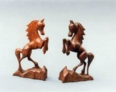 Wood carving, Animals, Horse, Carving miniatures, Handmade gift, Birthday gift