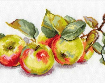 "Counted Cross Stitch Kit ""Appels"" ALISA"