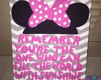 Minnie Mouse Painting