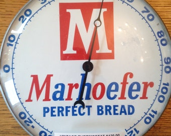 Marhoefer Bread Thermostat/Sign