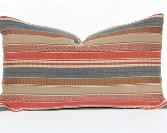 Mid Modern / Navajo -- Decorative Pillow Cover (Home Decor, Designer Pillow Cover, Toss Pillow)