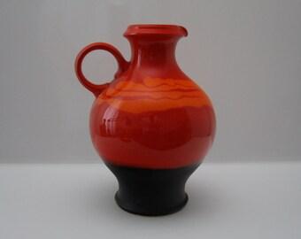Stunning vase by Hutschenreuter - West German Pottery Pop Art