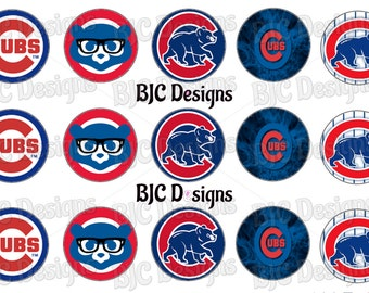 Cubs BCI, Digital Cubs BCI, Cubs Bottle Cap Images, Baseball bci, Chicago Cubs Bottle Cap images, Chicago Cubs inspired BCI, cubby bci