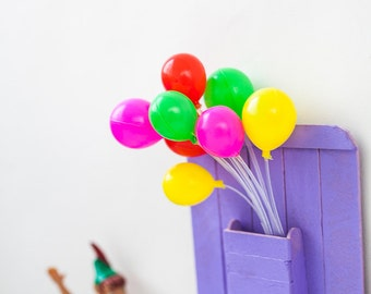 Decorative plastic balloons