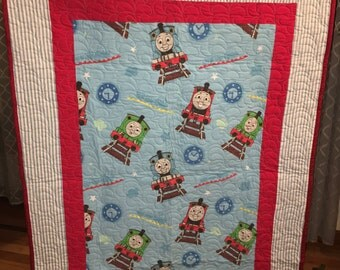 Thomas the Train Toddler Quilt