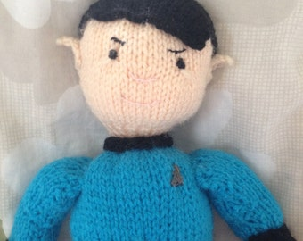Star Trek Knitted Spock Doll